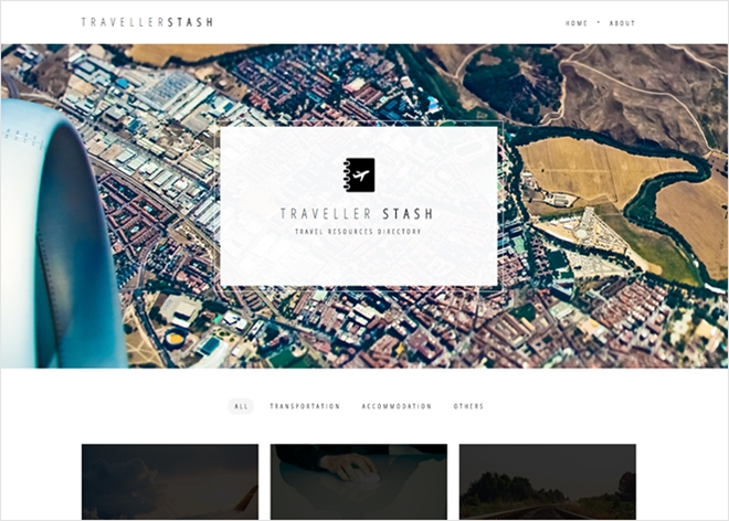 旅行者の為の便利なWebサイトをキュレーションするWebサイト・TRAVELLERSTASH